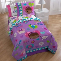 Doc McStuffins & Friends Twin Sheet Set