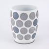 Dotted Circles Waste Basket by Avanti Linens