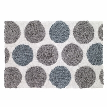 Dotted Circles Bathroom Rug by Avanti Linens