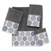 Dotted Circles Towels-Nickel Avanti Linens
