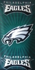 Eagles Sunburst Towel