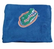 Florida Gators Embroidered Fleece Throw-Blue