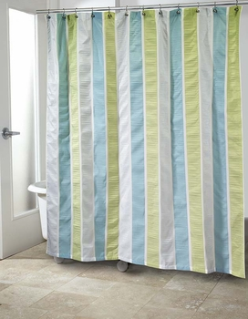 Freeport Shower Curtain By Avanti Linens Blue Green Or Gray