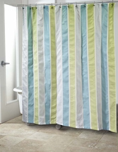 Freeport Shower Curtain by Avanti Linens-Blue/Green or Gray