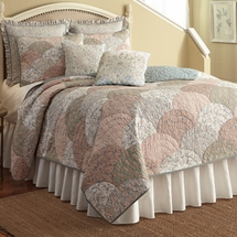 French Chain Cotton Quilt by Nostalgia Home