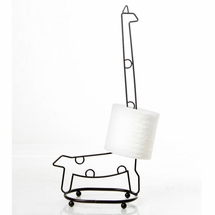 Giraffe Toilet Tissue Holder by Taymor
