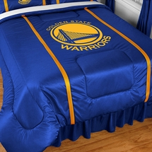 Golden State Warriors Sidelines NBA Basketball Bedding