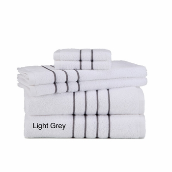 Grand Patrician Hotel Suite 6-Piece  Towel Sets