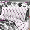 Graphic Daisy Mini Bed In A Bag Sets-Queen Size
