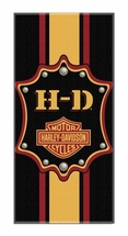 Harley-Davidson Beach Towels-Transport