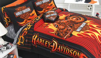 Super Harley Davidson Bedding Bath Products Interior Design Ideas Clesiryabchikinfo