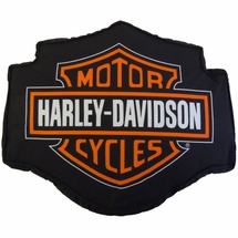 Harley Davidson® Fireball Decorative Pillow