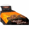 Harley Davidson Flames Sheet Set-Twin Size