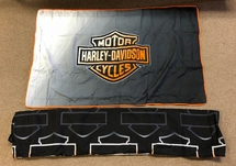 Harley Davidson King Sham & Bed Skirt Set