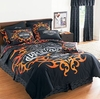 Harley Davidson Tattoo Pillow Sham