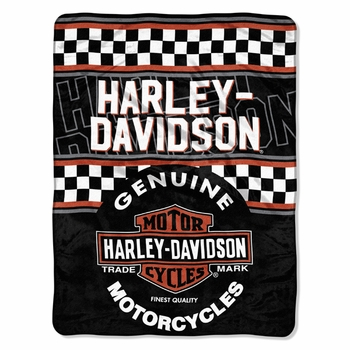 Harley Davidson®  Blankets & Throws