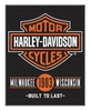 Harley-Davidson Unionized Bar & Shield Beach Towel, 54 x 68 inch