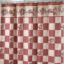 Hearts and Stars Shower Curtain & Bath Accessories