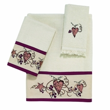 Hearts and Stars Towels