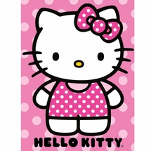 "Hello Kitty ""Dot"" Throw"