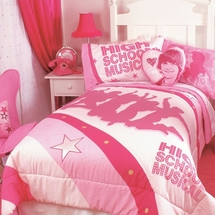 "High School Musical Childrens Bedding ""Silhouettes"""