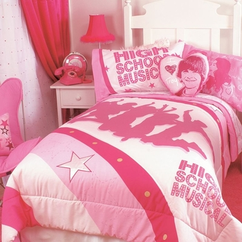 """High School Musical Childrens Bedding """"Silhouettes"""""""