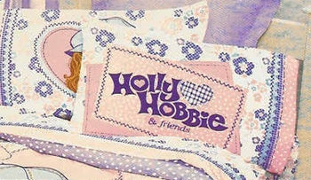 HOLLY HOBBY   PRETTY PATCHES Standard Pillowcase