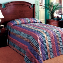 Hotel Quality Quilted Bedspreads- Prints & Solid Colors
