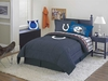 Indianapolis Colts NFL Twin Comforter / Sheet Set