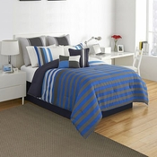 IZOD Regatta Stripe Comforter Set
