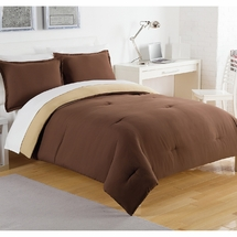 Izod Solid Reversible Comforter Set
