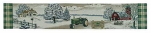 John Deere Antique Tractor Table Runner