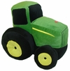 John Deere Traditional Tractor Shaped Pillow with Sound