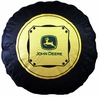 John Deere Traditional Tractor Tire Decorative Pillow