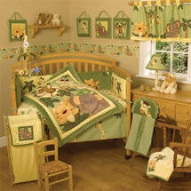 """Jungle Babies"" Infant Bedding"