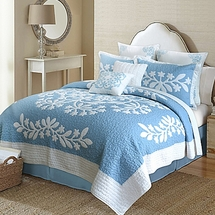 Kayla 100% Cotton Quilt by Nostalgia Home Fashions