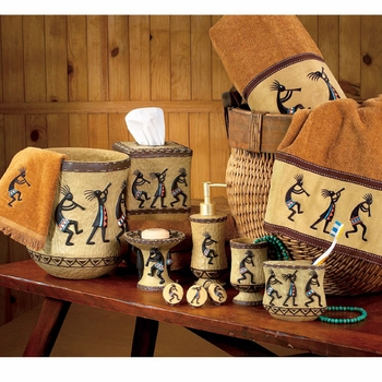 Kokopelli Bathroom Accessories