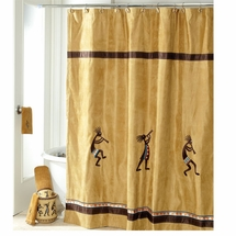 KOKOPELLI Shower Curtain and Bath Accessories