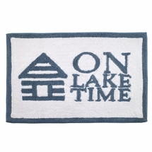 Lake Words Bathroom Rug