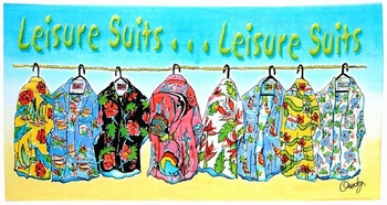 Leisure Suits Beach Towel-100% Cotton