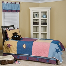Let's Play Ball  Quilt Set