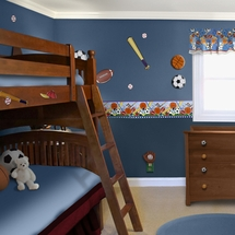 LETS PLAY BALL Kids Room Decor