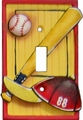 Let's Play Ball Single Switchplate