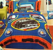 Lionel Trains Bedding