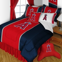Los Angeles Angels MLB Sidelines Bedding Set