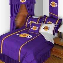 Los Angeles Lakers  Sidelines NBA Basketball Bedding