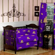 LSU Collegiate Baby Crib Set