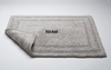 Luxury Reversible Cotton Bath Rug-Nickel  By Caro Home