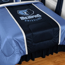 Memphis Grizzlies Sidelines NBA Basketball Bedding