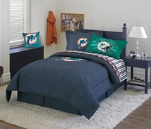 Miami Dolphins Nfl Football Bedding Accessories